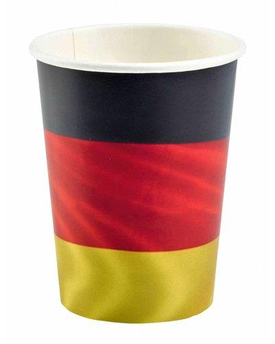 """Magicoo Fußballparty Becher """"Deutschland"""" - 250 ml"""