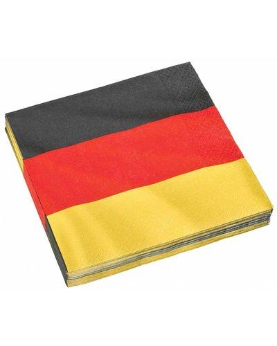 """Magicoo Fußballparty Servietten """"Deutschland"""""""