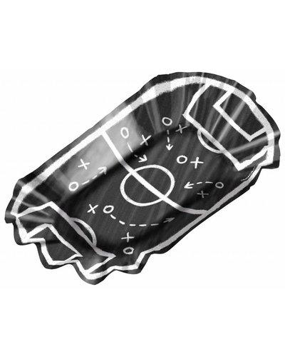 Magicoo 8 Pommesschalen für Fußballparty  - 17,5 x 10 cm