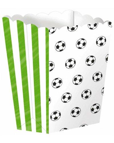 Magicoo 4 Pappschachteln für Fußballparty - 13,4 x 3,8 cm