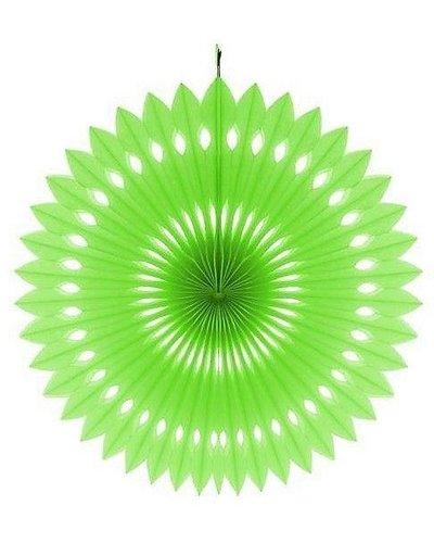 Magicoo Papierfächer grün - 40 cm