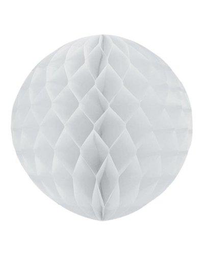 Party Wabenball weiß  - 25 cm
