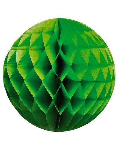 Party Wabenball grün  - 25 cm