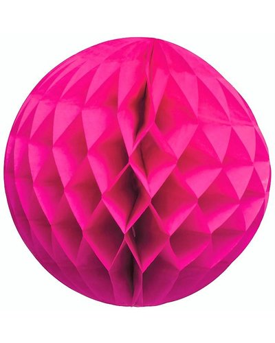 Party Wabenball pink  - 25 cm