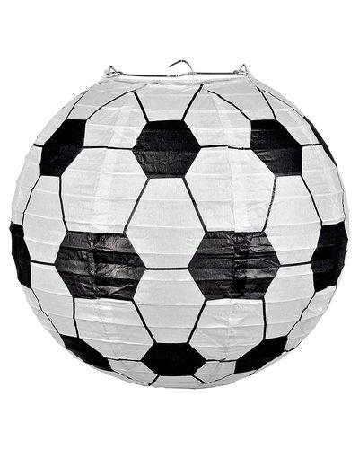 Magicoo Fußball Laterne weiß-schwarz - 25 cm