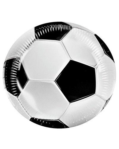 Magicoo 6 Partyteller Fußball-Klassiker
