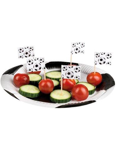 Magicoo 24 Partypicker Fußball - 7 cm