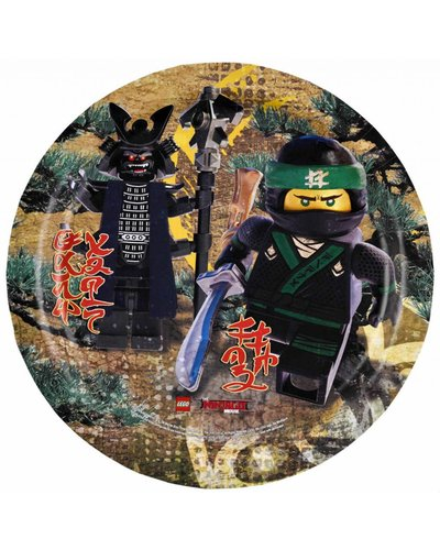 Magicoo Partyteller Ninjago - Ninjaparty - 23 cm