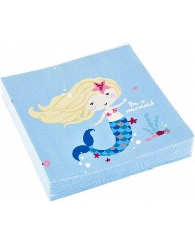 Magicoo Servietten - Magische Meerjungfrau - blau