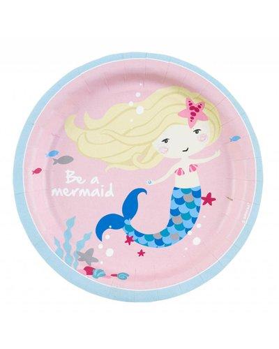 Magicoo Partyteller - Magische Meerjungfrau - rosa