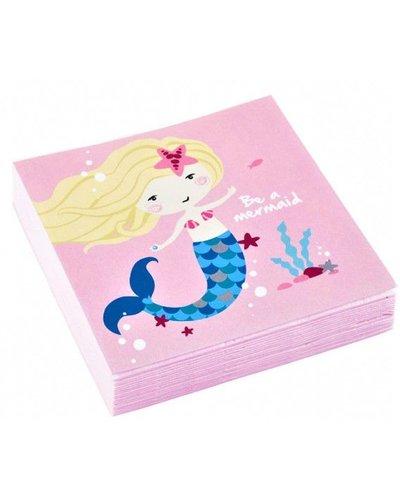 Magicoo Magische Meerjungfrau - 20 kleine Servietten