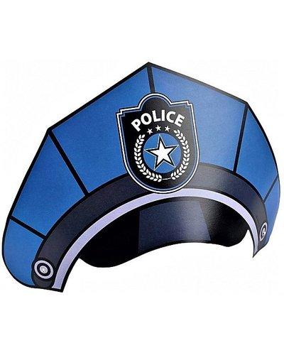 Magicoo Partyhüte mit Polizei-Motiv - 8 Stück