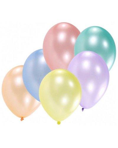 Magicoo 8 Luftballons in Pastellfarben - 27,5 cm