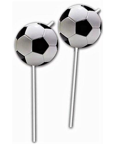 Magicoo 6 Strohhalme für Fußballparty