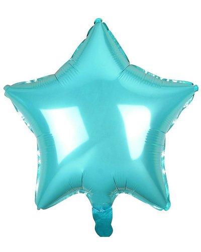 Magicoo Folienballon Stern himmelblau - 48 cm groß