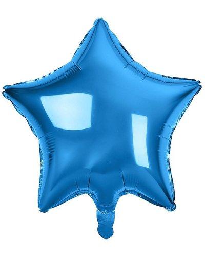 Magicoo Folienballon Stern blau - 48 cm groß