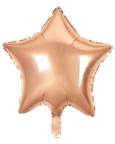 Magicoo Folienballon Stern rosagold - 48 cm groß