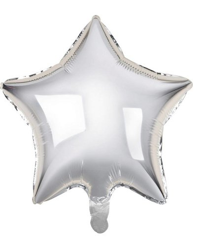 Magicoo Folienballon Stern Silber