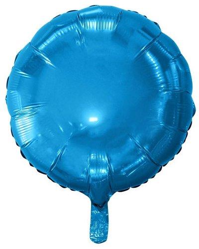 Magicoo Folienballon Kreis blau - 45 cm groß