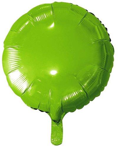 Magicoo Folienballon Kreis grün - ca. 46 cm groß