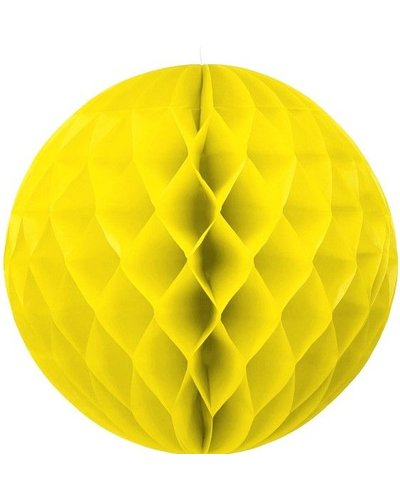 Party Wabenball gelb - 30 cm