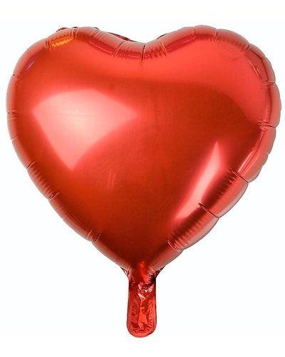 Magicoo Folienballon Herz rot - 46 cm