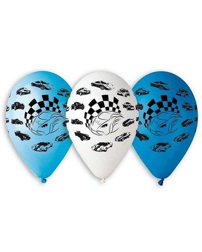 """Magicoo Luftballons """"Autos - Formel 1"""" - 5 Stück"""