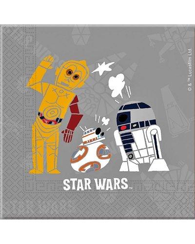 Magicoo Servietten für Star-Wars-Party  - 20 Stück