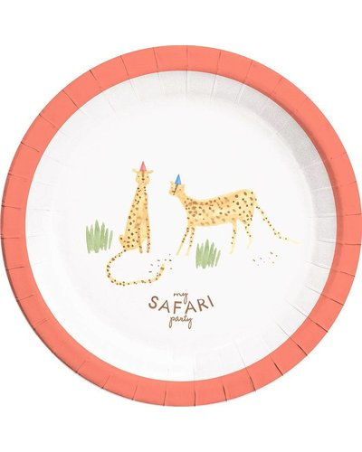 Magicoo Partyteller - Safari Party - 23 cm Durchmesser