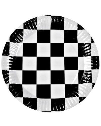 Magicoo Partyteller Autorennen- Formel 1 - 6 Stück - 23 cm