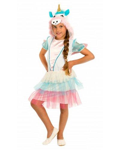 Magicoo Deluxe Einhorn Kostüm Mädchen