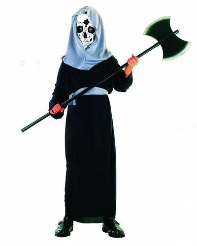 Magicoo Sensenmann Skelett Kostüm für Kinder