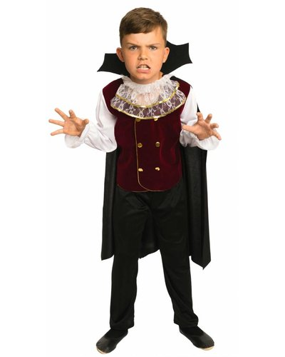 Magicoo Elegantes Vampir Kostüm für Jungen