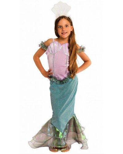Magicoo Funkelndes Meerjungfrau Kostüm für Mädchen
