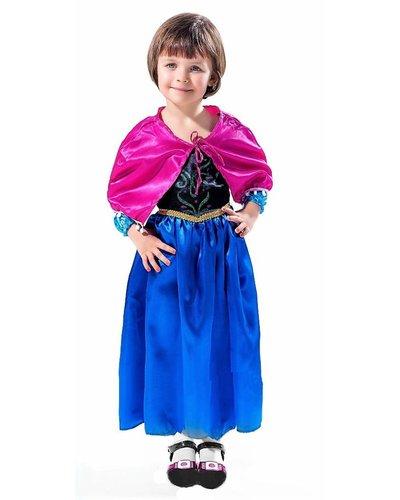 Magicoo Eisprinzessin Kleid mit Umhang für Mädchen