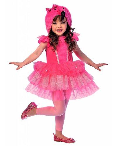 Magicoo Flamingo Kostüm für Mädchen