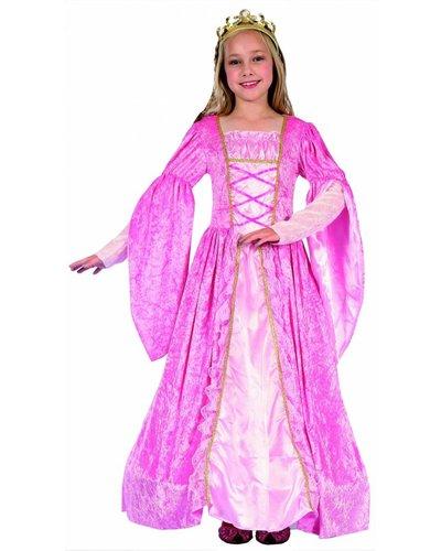 Magicoo Royal Prinzessin Kostüm für Kinder rosa