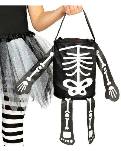 Magicoo Tasche für Süßigkeiten mit Skelett-Muster
