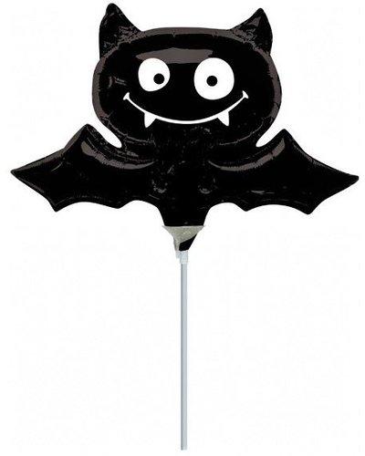 Magicoo Großer Halloween Folienballon Fledermaus