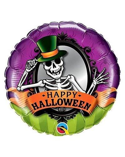 """Magicoo Halloween Folienballon """"Skelett mit Hut"""""""