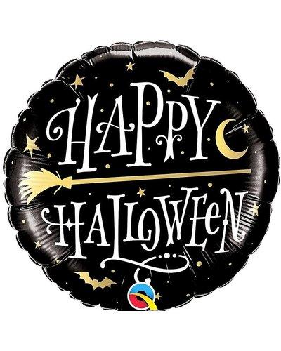 "Magicoo Halloween Folienballon ""goldener Besen"""