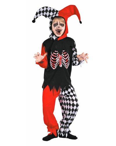 Magicoo Horror Clown Skelett-Kostüm für Jungen