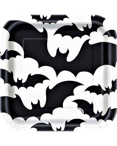 Magicoo 8 Deluxe Halloween kleine Partyteller schwarz-weiß