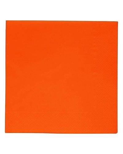 Magicoo Servietten orange  - 20 Stück - 33x33 cm
