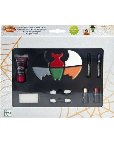 Magicoo Großes XL Schminkset für Halloween