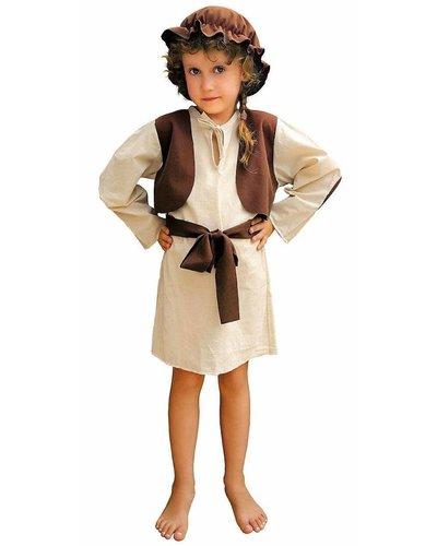 Magicoo Schäfer Hirten Kostüm Kinder Mädchen