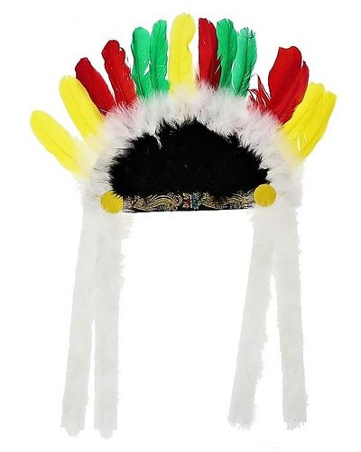 Magicoo Bunter Indianer Kopfschmuck Apache