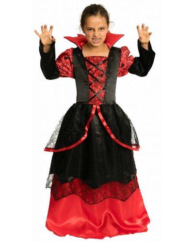 Magicoo Vampir Gräfin Kostüm  für Mädchen