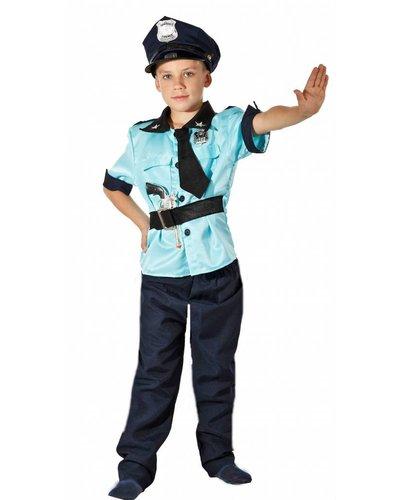 Magicoo Polizist Kostüm Kind Polizei Kinderkostüm