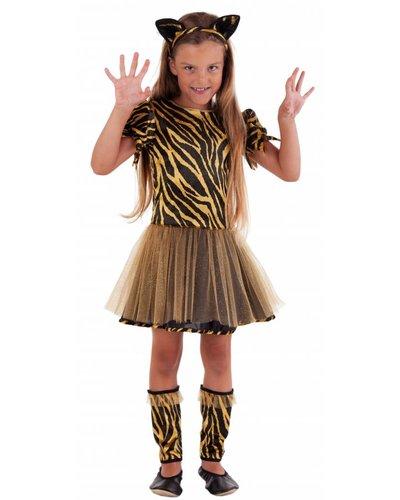 Magicoo Tiger Kostüm für Kinder - Mädchen